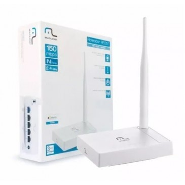 Roteador Multilaser Wireless 150 Mbps 1 Antena (Ref 130108)