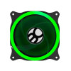 Cooler FAN Bluecase Ring BFR-11G, 120mm, LED, Verde